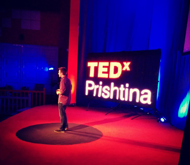 My speech at TEDx Prishtina – 2014
